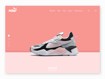 Urbanears Web Page Concept Design home page design hero design dailyui puma concept ux design graphic design concept design ui ui design web design webdesign website web page
