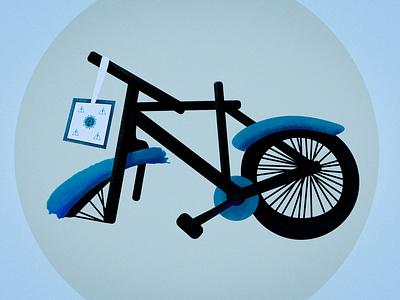 """Broken bike"" metaphor pandemic covid19 bike broken"