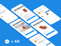 AR Integration for Shopping bot in FB Messenger