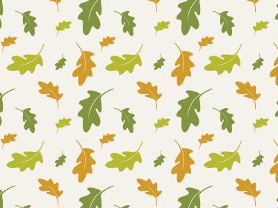 Oak Leaf Pattern vector pattern pattern vector oak leaf seamless pattern