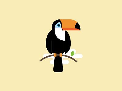 Toucan vector bird