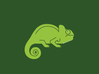Chameleon chameleon vector