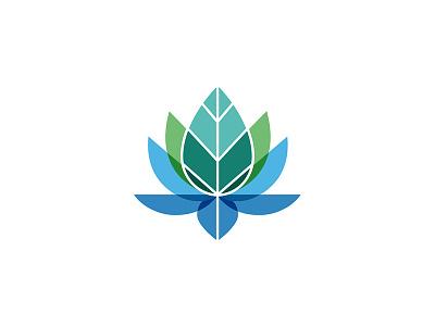 Lotus Logo logo design branding health lotus logo