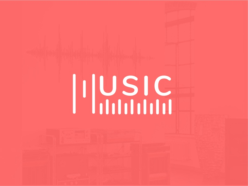 music studio presentation app icon music app vector modern logo wordmark logo music art music branding logobranding illustration logodesign music studio