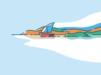 Sail boat 🚣