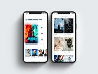 IMDb concept app
