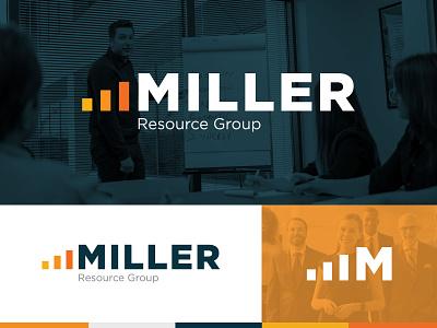 Miller Resource Group :: Branding blue