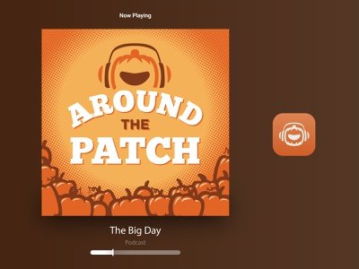 Great Pumpkin Run :: Podcast Cover events 5k running