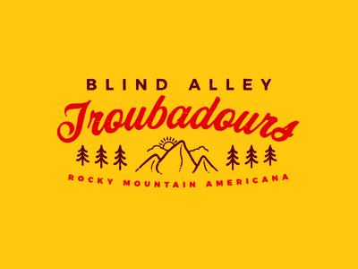 Blind Alley Troubadours Logo