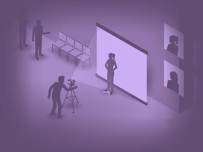 Create Amazing Headshots :: Blog Post Illustration