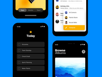 Magic Motion Examples list todo fab segment scroll motion magic transition animation interaction android ios design prototype framer