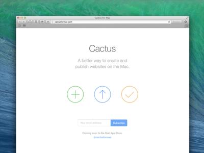 Cactus for Mac