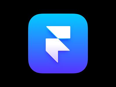 Framer App Icon 2 branding logo motion graphics graphic design 3d interaction animation design prototype framerjs framer