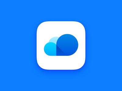 Cloud iOS web online designs prototype home app bookmark ios cloud framerjs framer js framer