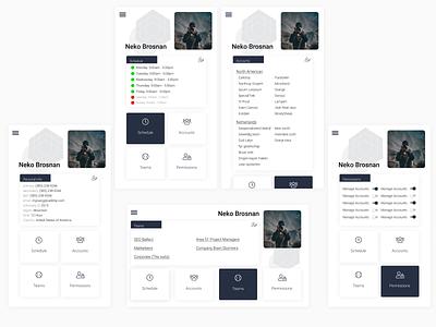 Daily UI - UserProfile webdesign web figma ux ui design ux  ui daily 100 challenge dailyui