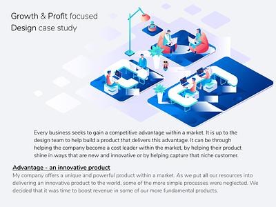 Growth and Profit Focused Design Case Study product design product ux  ui figma ux ui design