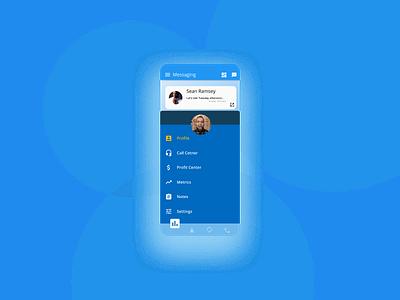 Mobile Menu mobile design mobile app design mobile ui mobile app mobile dribble application 2020 daily 100 challenge ux  ui figma ux dailyui ui design