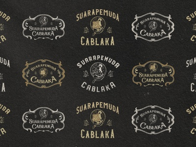 Suara Pemuda Cablaka | T-shirt Design badge vintage wayang t-shirt lettering branding logo design illustration