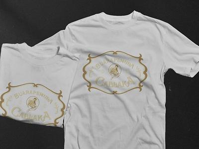 Suara Pemuda Cablaka | T-shirt Design wayang vintage t-shirt logo lettering illustration design branding badge