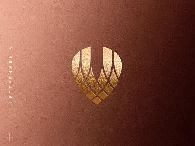 letter-mark V jewelry golden branding elegant initial decoration gold designs design creative logos logo v letter premium accessories sale collection jewellery
