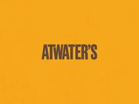 Atwater's Wordmark