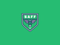 Saudi Arabian Football Federation (SAFF) logo redesign