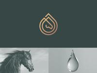 Horse + Water drop