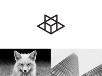 Fox  + Building abstract mark