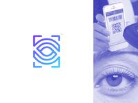 QR Scan + Eye mark