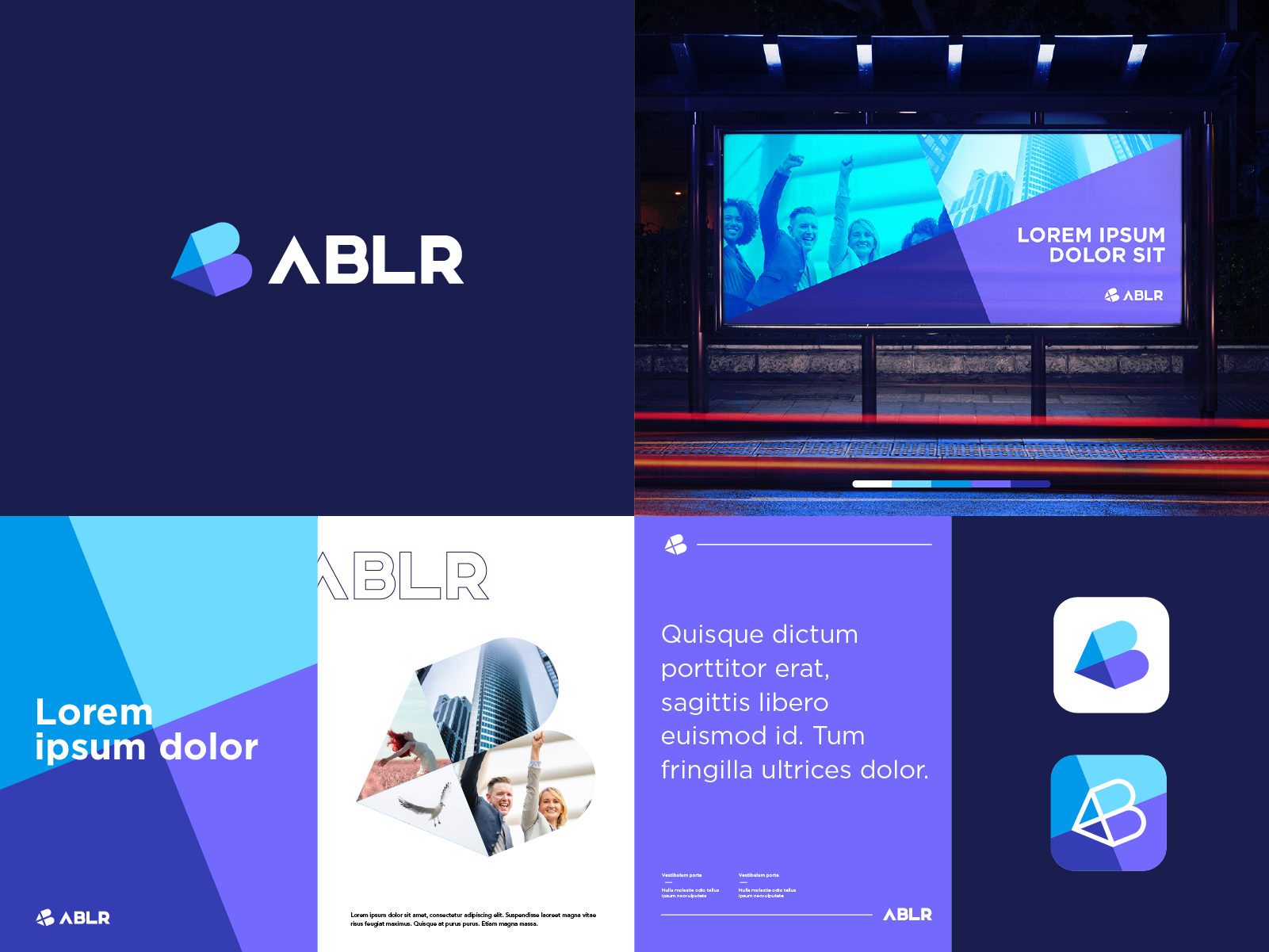 ABLR Identity system by Ahmed safwan on Dribbble