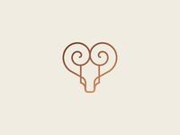 Bull + Heart mark