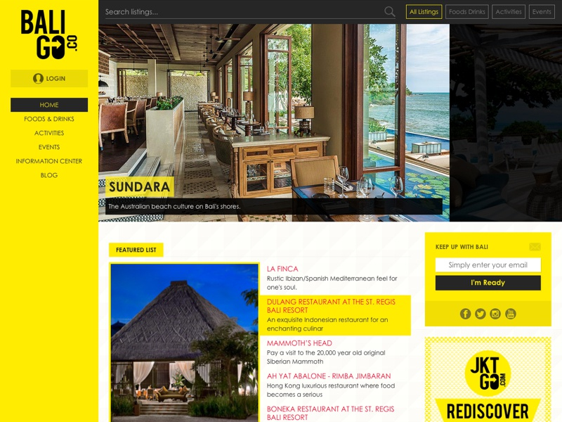 City Reference Website website