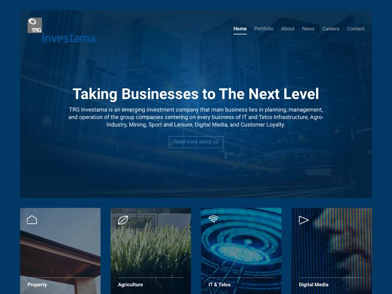 TRG Website website