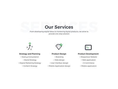 Digital Agency Website Redesign website