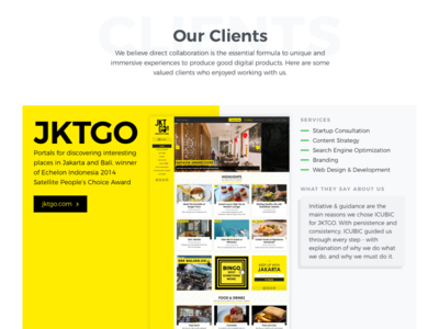 Digital Agency Website Redesign