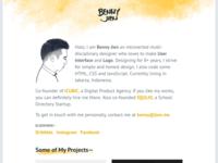 [WIP] Personal Portfolio Website