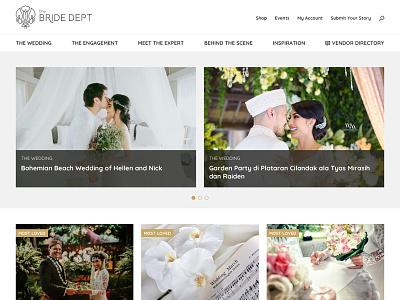 [WIP] Redesign of Wedding Portal website ui