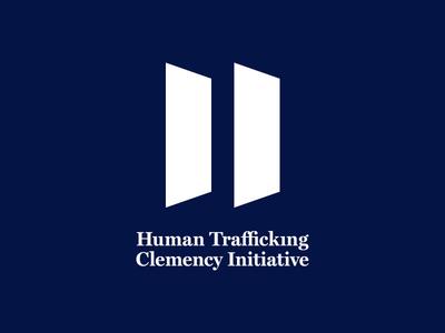 HTCI — Human Trafficking Clemency Initiative symbol mark desing artdirection npo graphicdesign logo identity branding