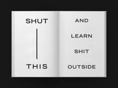 Books For The Masses editorial design graphic art identity studio graphicdesign branding experimental typography design