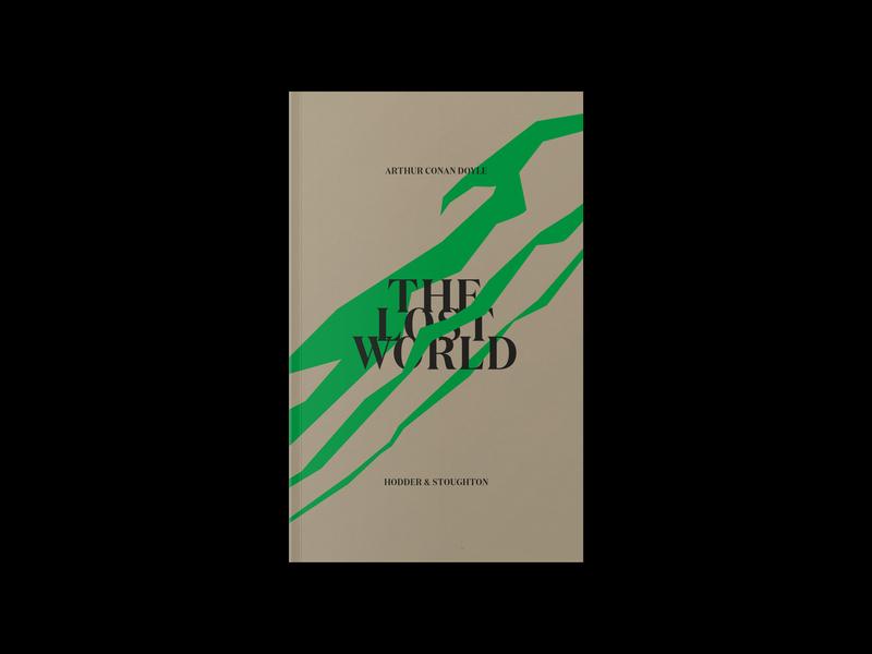 The Lost World book art editorial design illustration vector logo experimental identity graphicdesign branding typography design