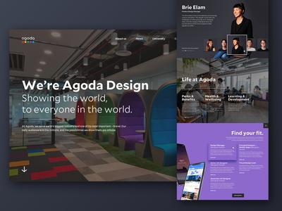 agoda design