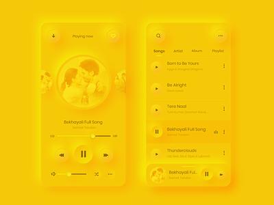 Music App design user experience design user interface design user experience user interface ui  ux uiuxdesign branding website uiux design uiux ios ios app design design flat design designs app