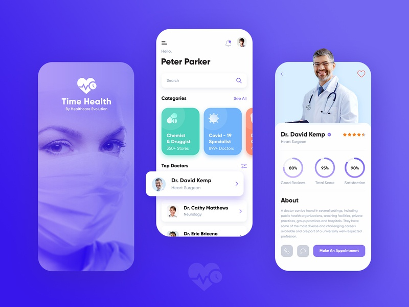 Healthcare Mobile App android mobile app ios mobile app mobile template template web coronavirus covid-19 application clinic app design free ui ux design mobile design dribbble mobile app design healthcare solution hospitals doctor healthcare mobile app