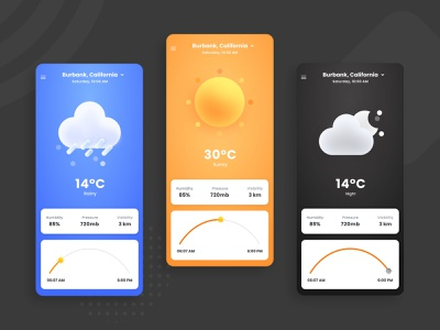 Weather App XDdailychallenge   Weather Landing page mobile application design uiux uidesign mobile app design animation weather app ui design weather landing page weather app
