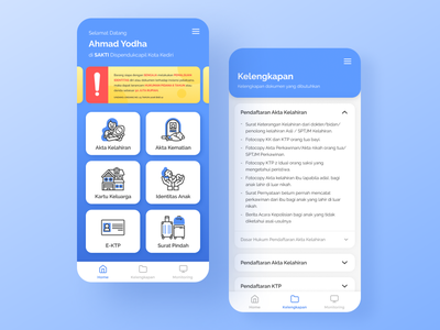 Population and Civil Registration Agency App civil registration population app uiuxdesign mobile design mobile app design mobile app app design app uiux uidesign ux ui