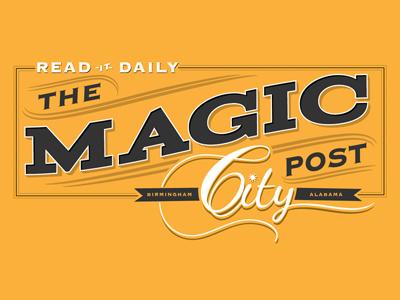 Magic city post logo