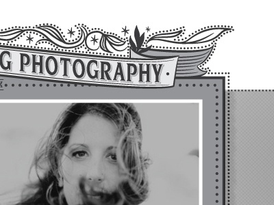 Website design we are working on part 2 wedding photography web site design website custom illustration hand drawn flourish greyscale buffalo new york