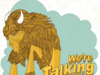 Finished We're Talking Proud - Buffalo NY Art Print