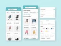 Dekoruma Search Concept search bar search furniture ui design