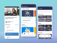 Skill Academy Redesign video app product detail education app ui design